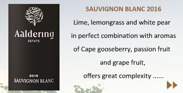Lime, lemongrass and white pear in perfect combination with aromas of Cape gooseberry, passion fruit and grape fruit, offers great complexity to this zesty version of our Sauvignon blanc.